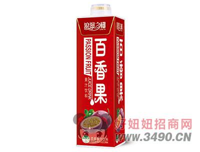 浪漫之椰百香果汁饮料1L