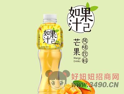 如果汁已芒果风味饮料420ml