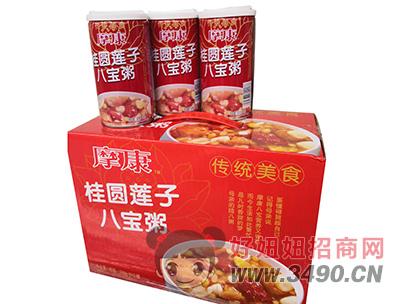 摩康桂圆莲子八宝粥360g×12罐