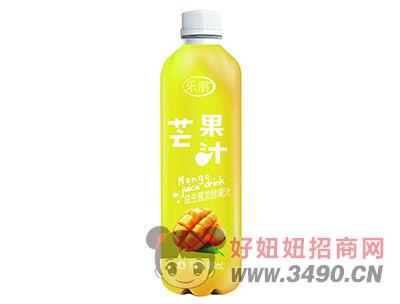 乐朋芒果汁480ml