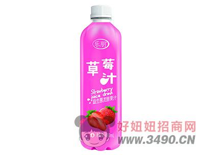 乐朋草莓汁480ml