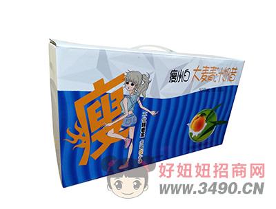 瘦小白奶昔大麦青汁奶昔饮品乳饮品340gX10瓶箱装