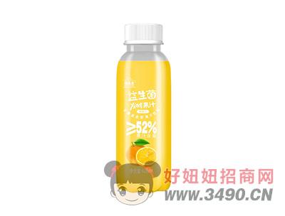 维他星益生菌发酵果汁428ml鲜橙汁