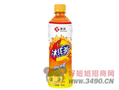 果浓冰红茶柠檬味茶饮料500mlx15瓶