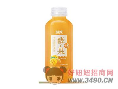 明好酵果芒果果汁饮料450ml