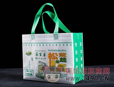 藏百草青稞浆无糖原味手提袋