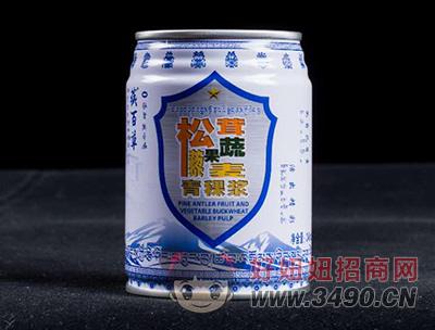藏百草无糖原味青稞浆易拉罐