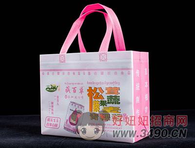 藏百草青稞浆儿童饮品手提袋