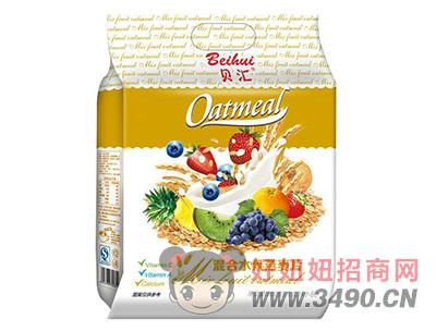 贝汇混合学生水果燕麦片800g袋装