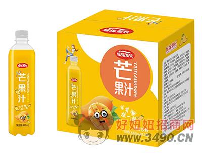 摇摇潮饮芒果汁饮料480ml×15瓶