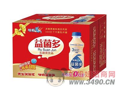 味�骋婢�多乳酸菌�品340mlx12瓶�Y盒