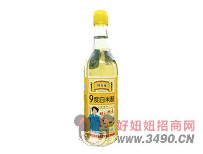 清泉湖山西9度白米醋500ml