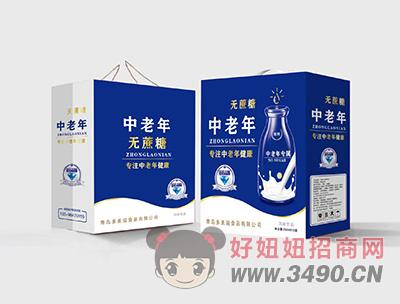 中老年无蔗糖风味饮品250mlX12盒