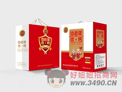 中老年优+钙风味饮品250mlX12盒