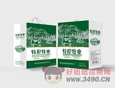 特伦牧业风味饮品250mlX12盒(箱装)
