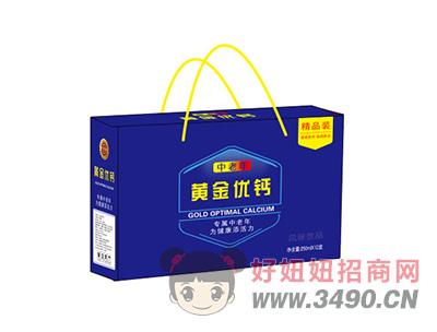 中老年黄金优钙风味饮品250mlX12盒
