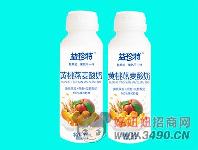 益珍特黄桃燕麦酸奶310ml