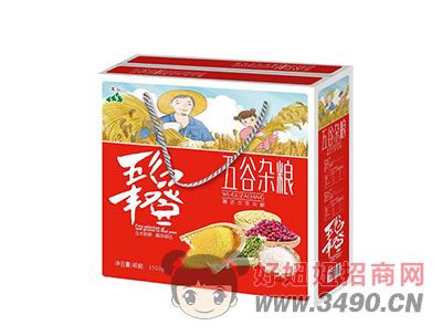 莲山 五谷杂粮礼盒装
