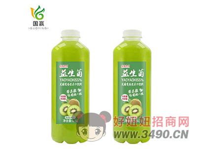 摇摇潮饮益生菌发酵复合型猕猴桃果汁1.5L