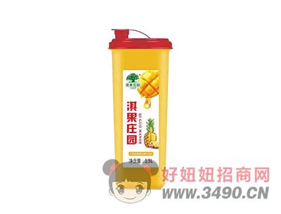 淇果庄园芒果凤梨复合果汁1.5L