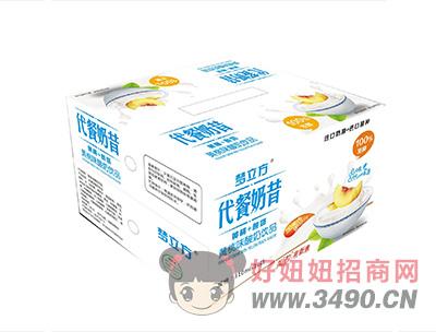 梦立方代餐奶昔黄桃+酸奶