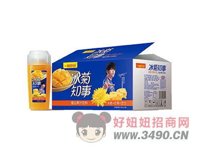 冰菊知事复合果汁饮料冰菊+芒果+芝士礼盒装
