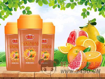 橙粒柚柚复合果汁饮料430ml
