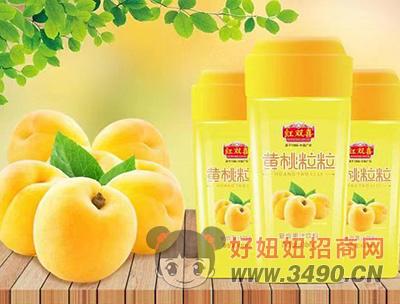 黄桃粒粒复合果汁饮料