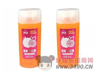 维他星桃桃红柚发酵型复合果汁饮料388ml瓶装