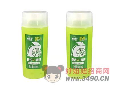 维他星泰式青柠发酵型复合果汁饮料388ml瓶装