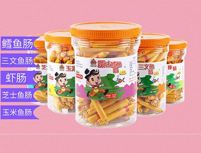 海保罗儿童海鲜肠罐装10gx100支