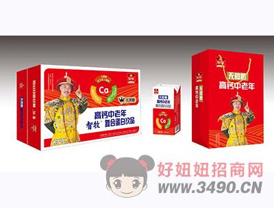 智牧高钙中老年复合蛋白饮品礼盒装