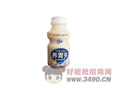 u活100养胃多乳酸菌风味饮品