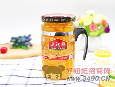 奥福祥桔子罐头608g