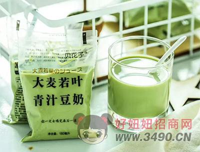 贝花子大麦若叶青汁豆奶180毫升