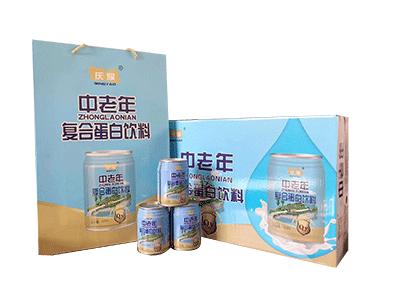 庆耀中老年复合蛋白饮料240ml