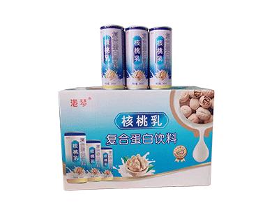 港琴核桃乳复合蛋白饮料箱装240ml