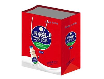 乳酸菌风味饮料礼盒袋