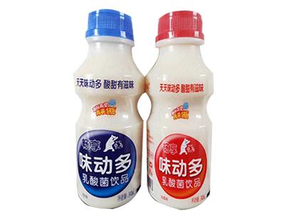 畅享味动多乳酸菌饮品340ml
