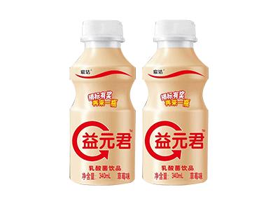 宸洁益元君草莓味乳酸菌340ml