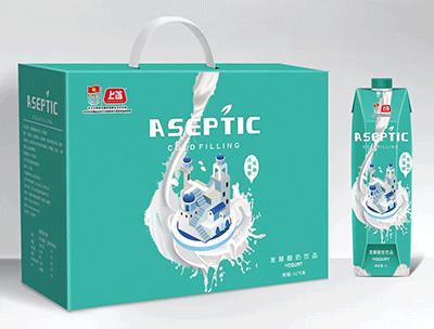 发酵酸奶箱装1Lx6支