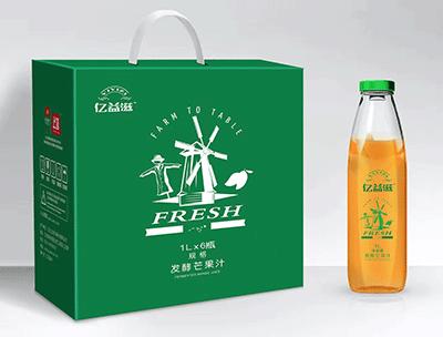 亿益滋发酵芒果汁1Lx6支