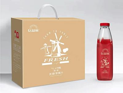 亿益滋发酵苹果汁1Lx6支