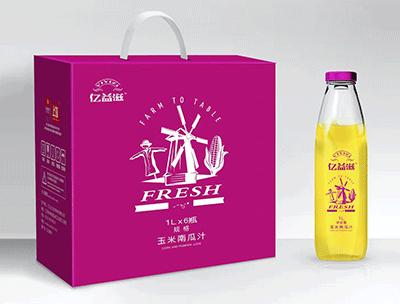 亿益滋玉米南瓜汁1Lx6瓶