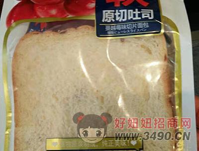 原切原吐司面包