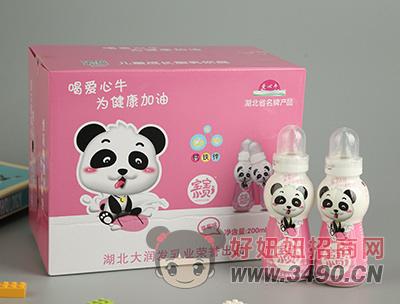 宝宝小贝草莓味儿童成长型乳饮品200ml×20瓶礼盒
