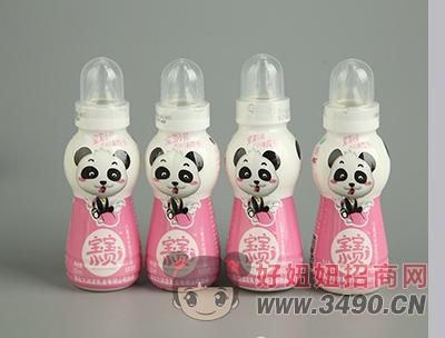 宝宝小贝草莓味乳饮品200mlx4瓶