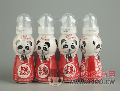 宝宝小贝红枣味乳饮品200mlx4瓶