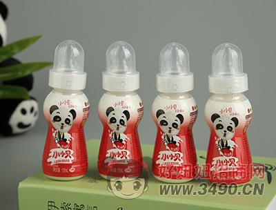 小小贝红枣味乳饮品瓶装110mlx4