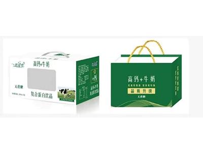 牧益臻高钙牛奶复合蛋白饮品无蔗糖礼盒装